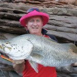 Sale River Barramundi catch