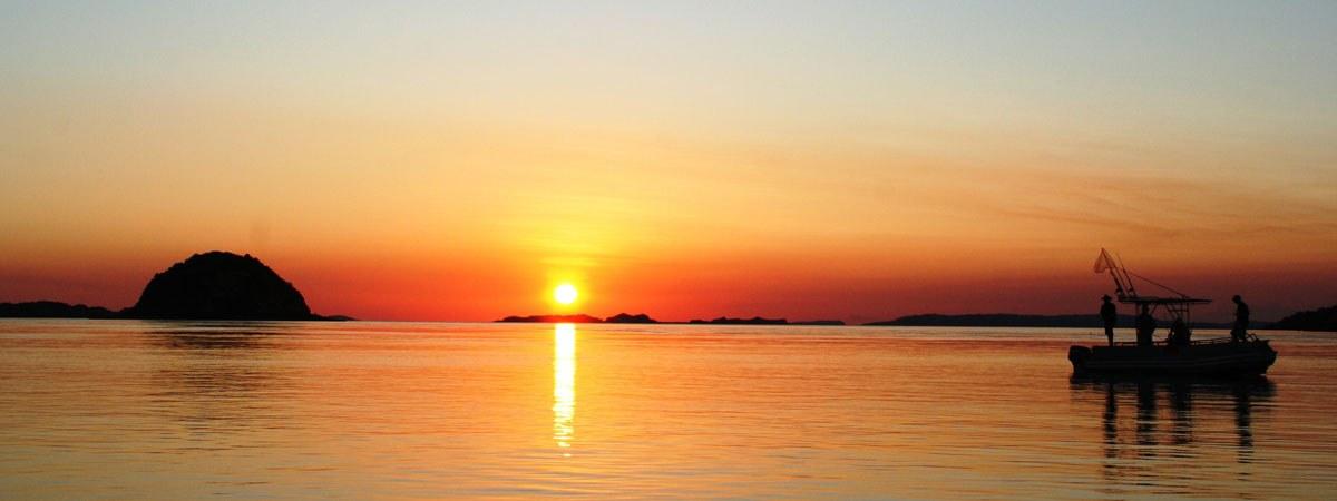 Kimberley Sunset fishing
