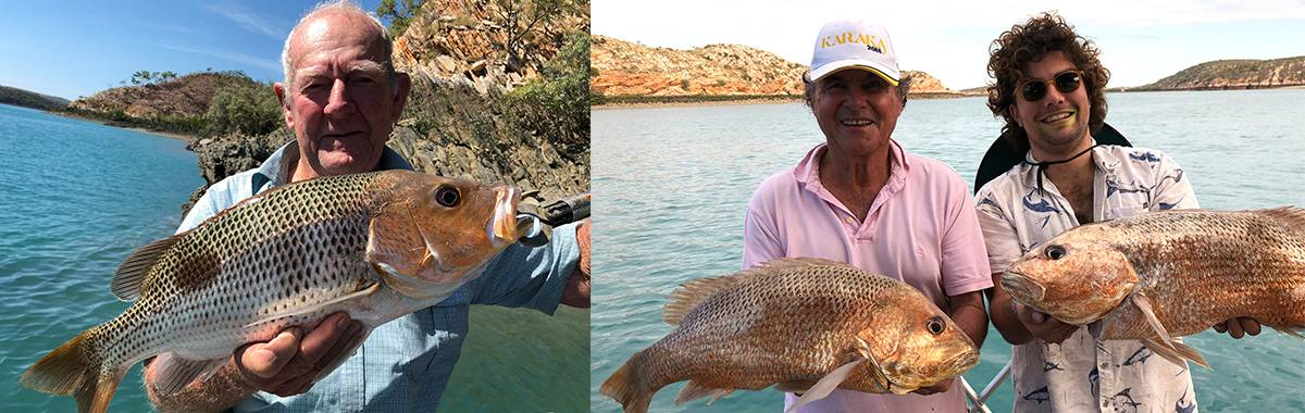 Fingermark caught at Strickland Bay - Kimberley